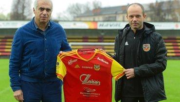Парфенов— главный тренер тульского «Арсенала»