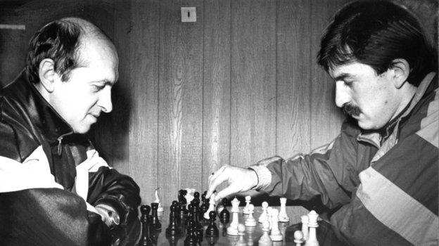 Виктор Зернов и Станислав Черчесов