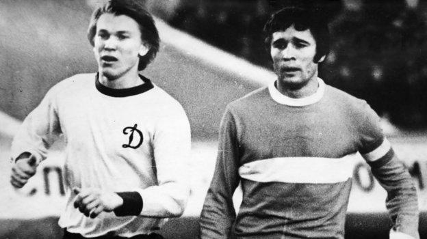 Олег Блохин и Евгений Ловчев