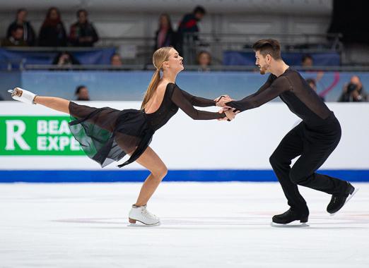 Александра Степанова и Иван Букин. Фото ФФККР