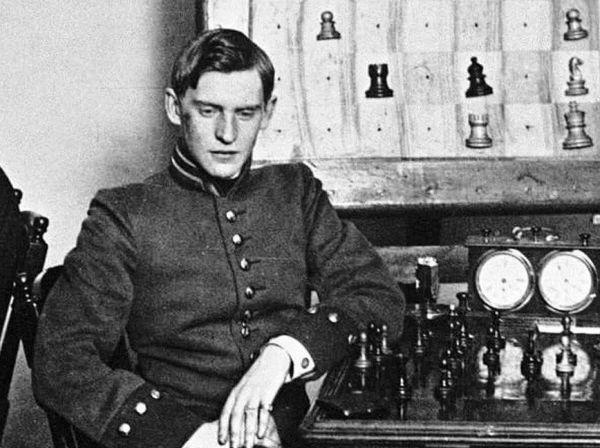 1914 год. Александр Алехин. Фото ruchess.ru