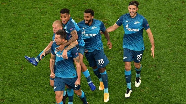 Всреду «Зениту» предстоит домашний матч Лиги чемпионов против «Лацио». Фото AFP