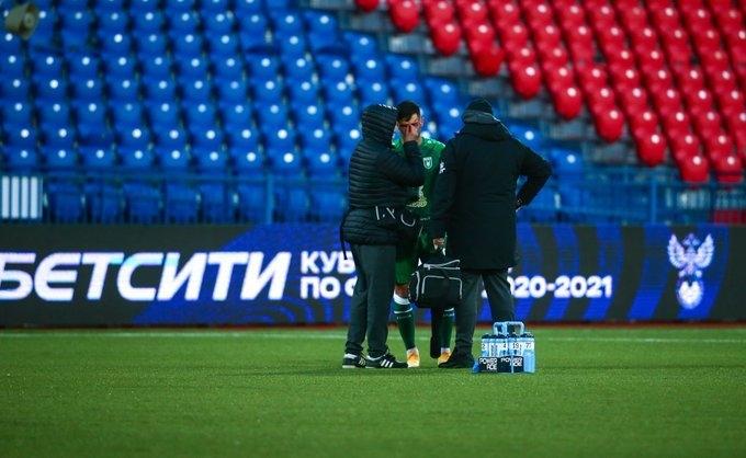 Дарко Йевтич сврачами «Рубина». Фото ФК «Рубин»