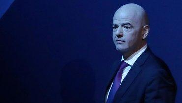 МОК попросили исключить изсвоих рядов президента ФИФА Инфантино