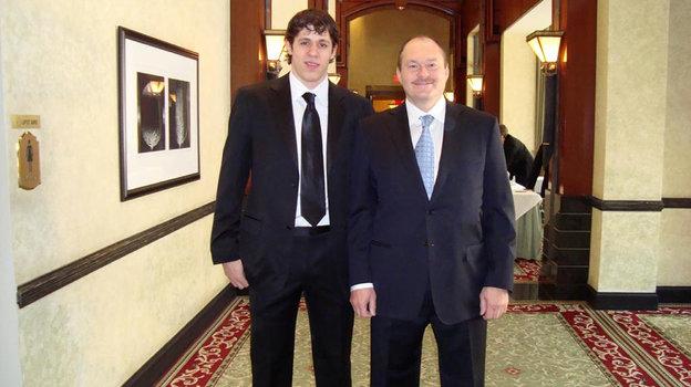 2007 год. Геннадий Ушаков и Евгений Малкин. Фото из архива Геннадия Ушакова