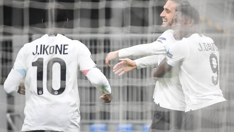 5ноября. «Милан»— «Лилль»— 0:3. Фото Twitter