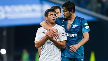 Магомед-Шапи Сулейманов (слева) иСердар Азмун.