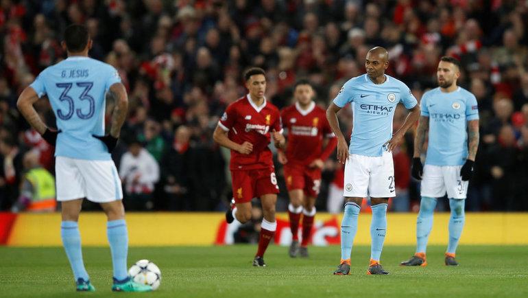 «Манчестер Сити» примет «Ливерпуль» в8-м туре АПЛ. Фото Reuters