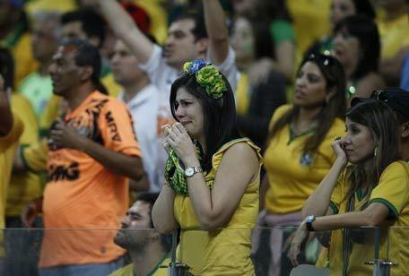 Болельщики сборной Бразилии. Фото AFP