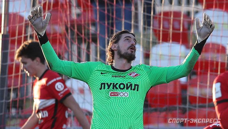 7ноября. Москва. «Спартак-2»— «Нижний Новгород»— 0:4. Андреа Романьоли.