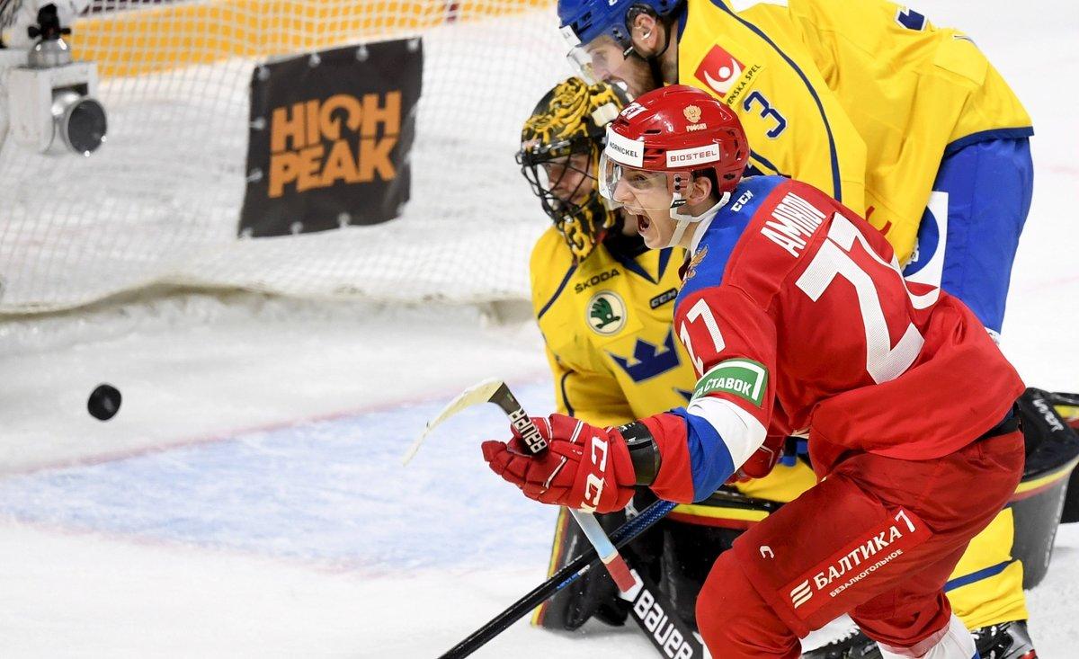 Российская молодежка обыграла ишведов! Сборная Ларионова спаслась вконцовке ивырвала победу