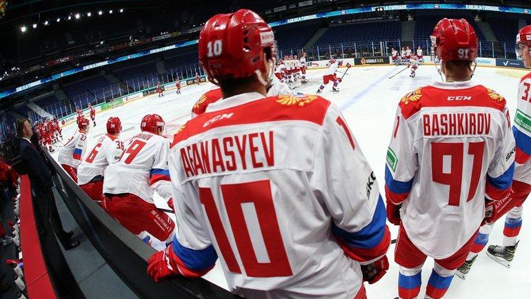 Сборная России выиграла Кубок Карьяла.
