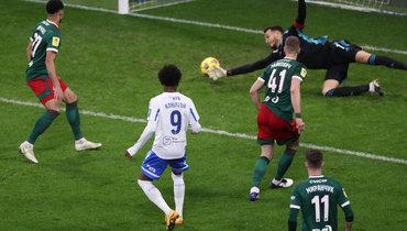Шесть голов, три удаления— «Динамо» разгромило «Локо»