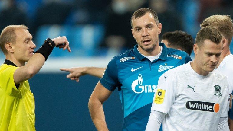 Zenit Krasnodar 3 1 Kak Sudil Arbitr Moskalev Match 14 Go Tura Rpl Razbor Eksperta Sport Ekspress
