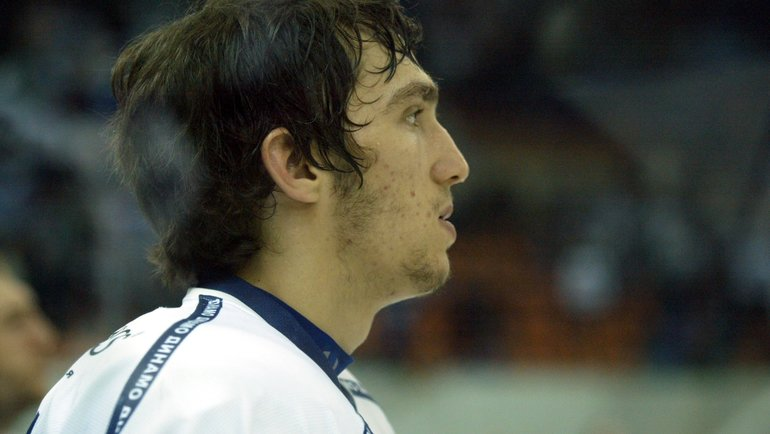 2005 год. Александр Овечкин. Фото Татьяна Дорогутина