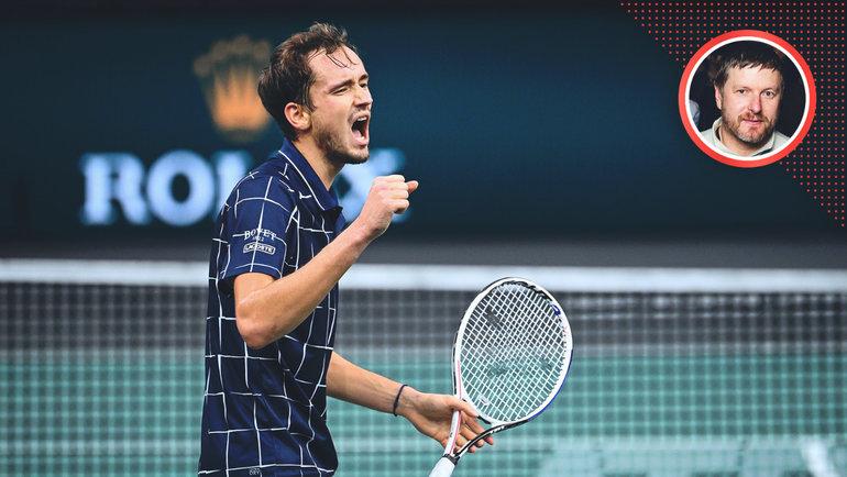 Экс-первая ракетка мира Евгений Кафельников— оприближающейся развязке короткого теннисного сезона.