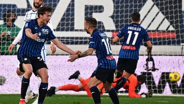 8ноября. Бергамо. «Аталанта»— «Интер»— 1:1. Алексей Миранчук (слева) забил дебютный гол вчемпионате Италии.