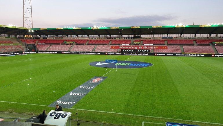Стадион «Мидтьюлланн». Фото ФК «Мидтьюлланн»