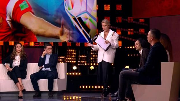 Шоу Ксении Собчак на Первом канале об Артеме Дзюбе.
