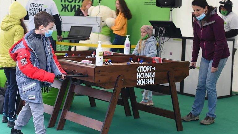 Локация для болельщиков. Фото Министерство спорта