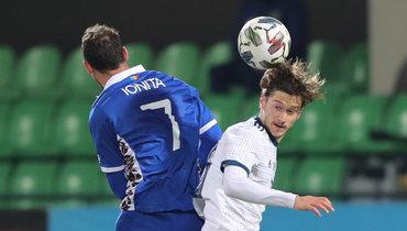 Россия сыграла вничью сМолдавией втоварищеском матче