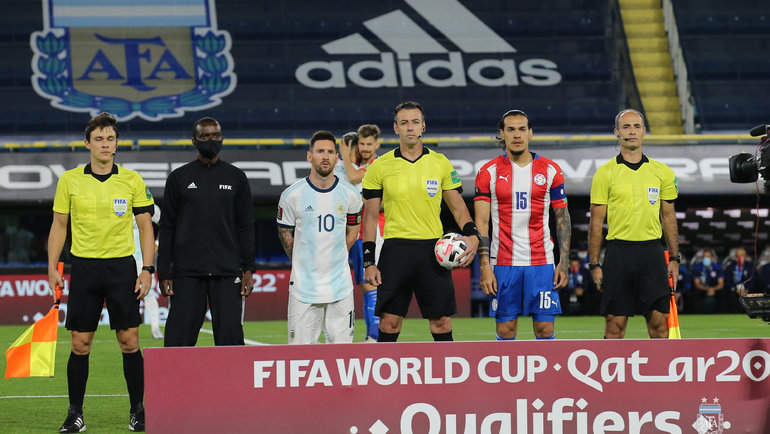 13ноября. Аргентина— Парагвай— 1:1. Фото Twitter