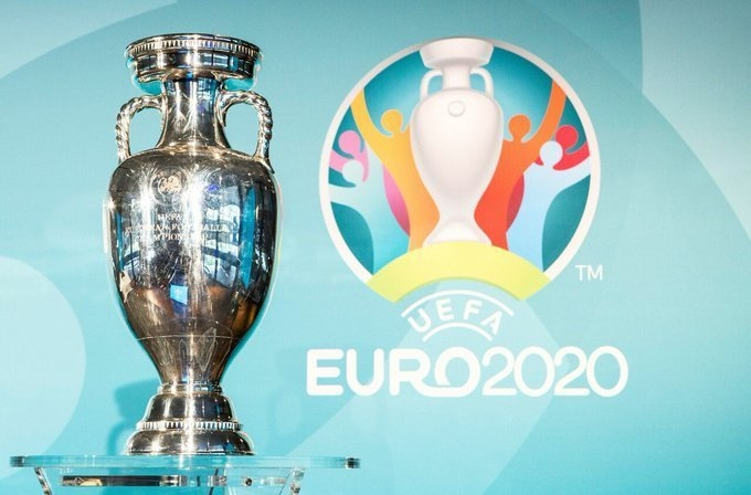Трофей чемпионата Европы. Фото Twitter