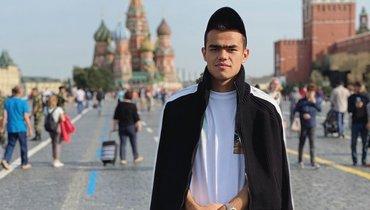 Спартаковец Урунов выложил новое стильное фото после прогулки вМоскве