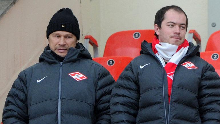 Дмитрий Попов (слева). Фото Татьяна Дорогутина