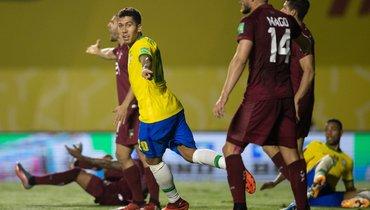 Одного гола Фирмину хватило Бразилии для победы над Венесуэлой