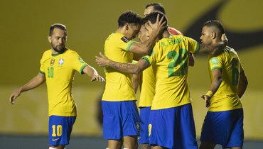 Бразилия выстрадала победу без Неймара, Суарес иКавани снова вделе, уВидаля фантастический гол