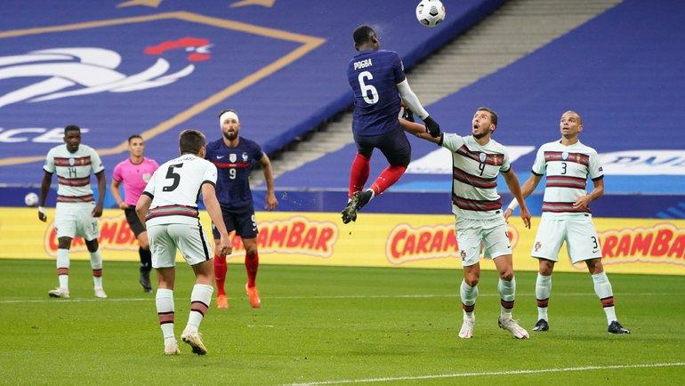 Сборная Португалии сыграет против Франции. Фото twitter.com/equipedefrance