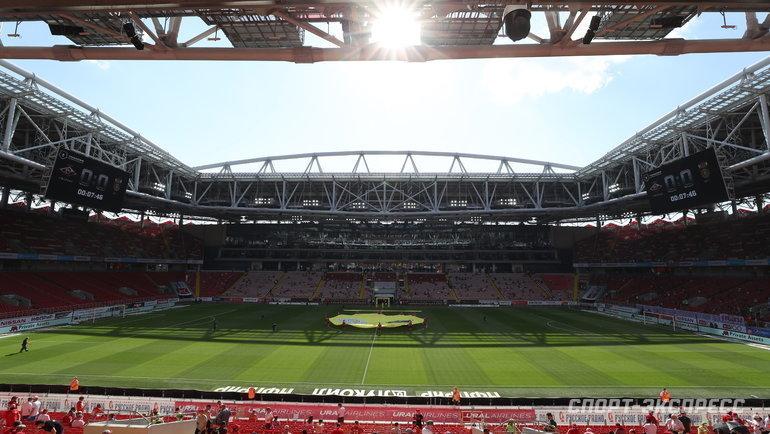 Стадион «Открытие Арена». Общий вид. Фото Александр Федоров, «СЭ» / Canon EOS-1D X Mark II