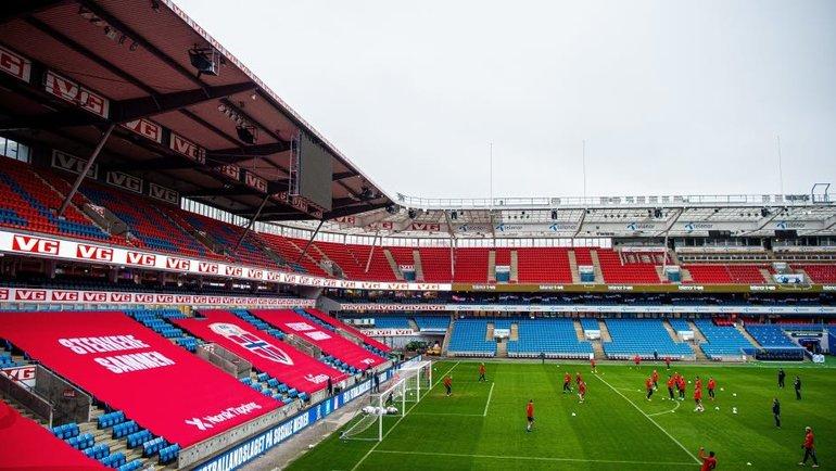 Норвегия не сможет сыграть с Румынией. Фото Федерация футбола Норвегии., photo.khl.ru