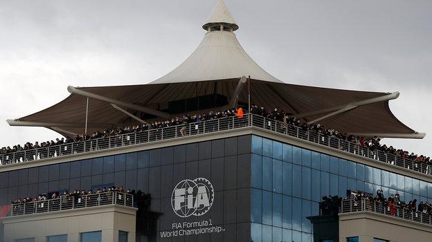15ноября. Стамбул. «Гран-при Турции». Фото AFP
