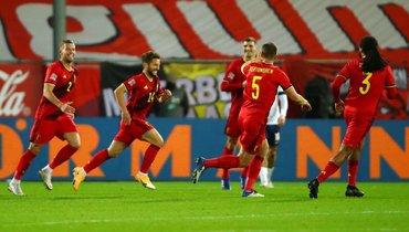 Ничья впользу России, Бельгия неоставила шансов Англии, Казахстан забил сцентра поля