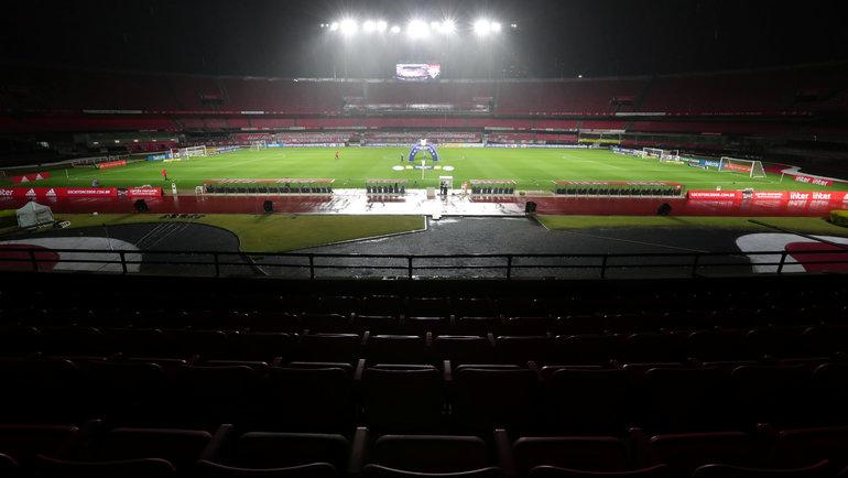 Стадион «Морумби» вСан-Паулу. Фото Reuters