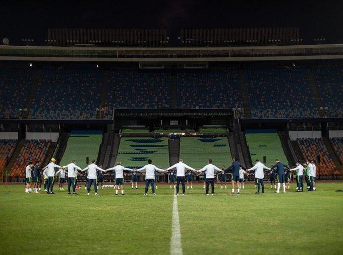Олимпийская сборная Бразилии. Фото Twitter