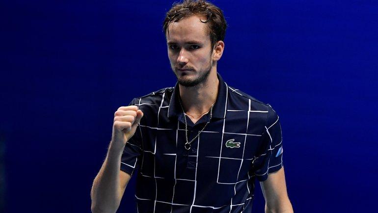 Итоговый турнир ATP: Даниил Медведев обыграл Александра Зверева. Фото Reuters0