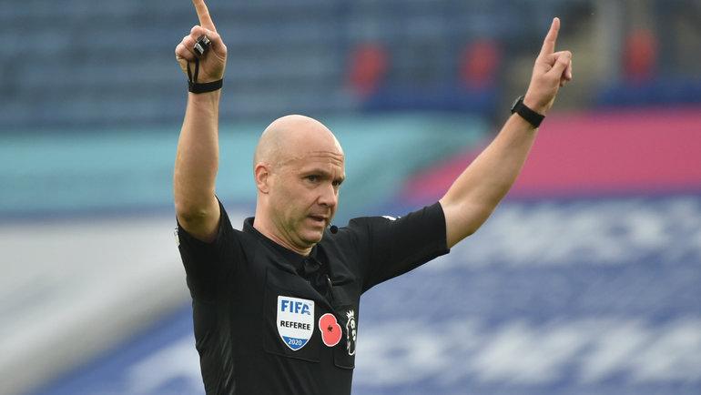 Энтони Тэйлор заменил польского арбитра вматче Сербия— Россия. Фото Reuters