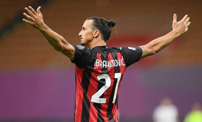 Златан Ибрагимович. Фото ФК «Милан».