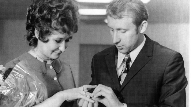 Любовь Бескова и Владимир Федотов. Фото из архива семьи Федотовых