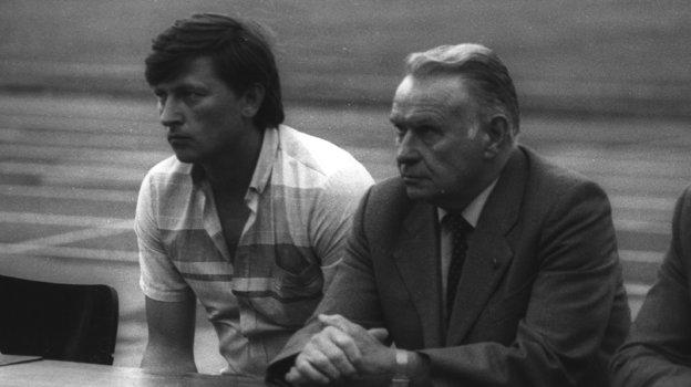 Константин Бесков (справа). Фото Вячеслав Булгаков
