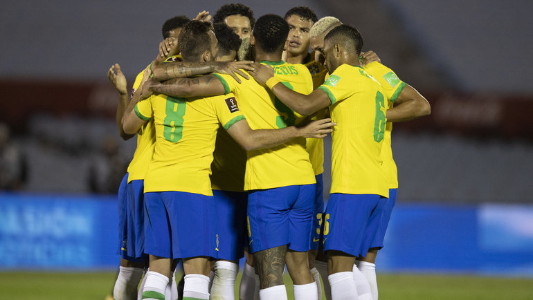 18ноября. Уругвай— Бразилия— 0:2. Фото Twitter