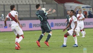 Аргентина обыграла Перу, Месси опять незабил