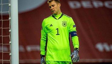 Нойер рассказал, чего нехватало сборной Германии вматче сИспанией