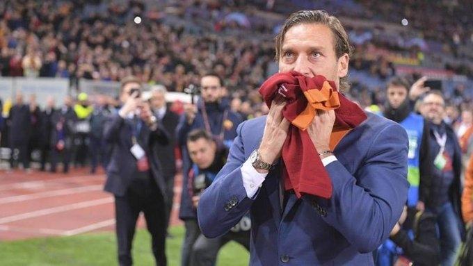 Франческо Тотти. Фото La Gazzetta dello Sport.