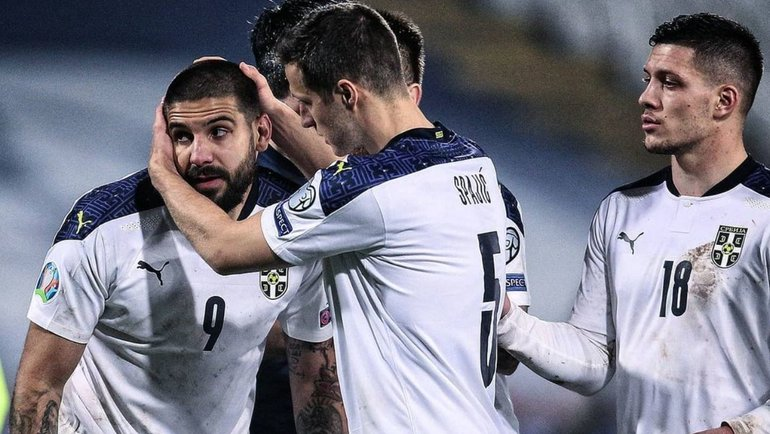 Футболисты сборной Сербии. Фото instagram.com