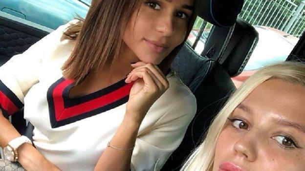 Дарья Валитова (справа) иКристина Дзюба. Фото Instagram