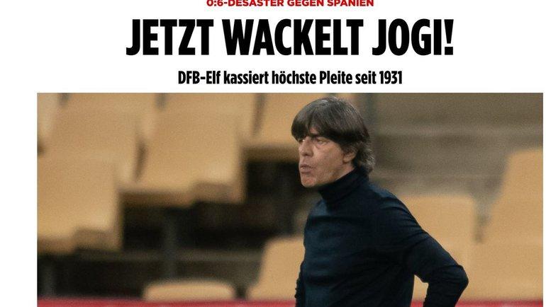 ВBild сообщили, что Йоахим Лев может покинуть сборную Германии. Фото Bild